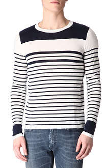SANDRO Elmore striped jumper