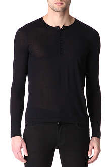 SANDRO Curtis knitted jumper