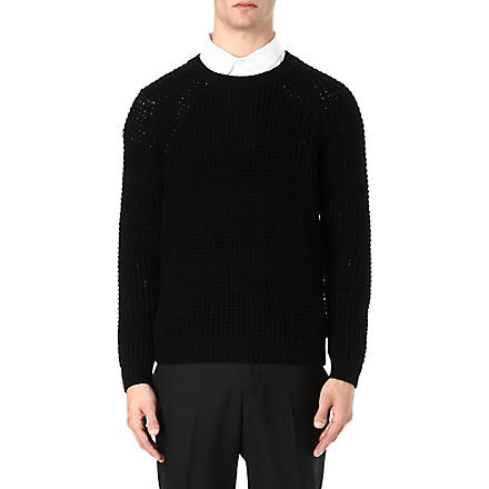 SANDRO Pull Fear jumper (Black