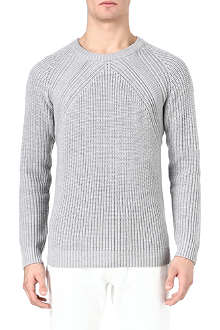 SANDRO Moon knitted jumper