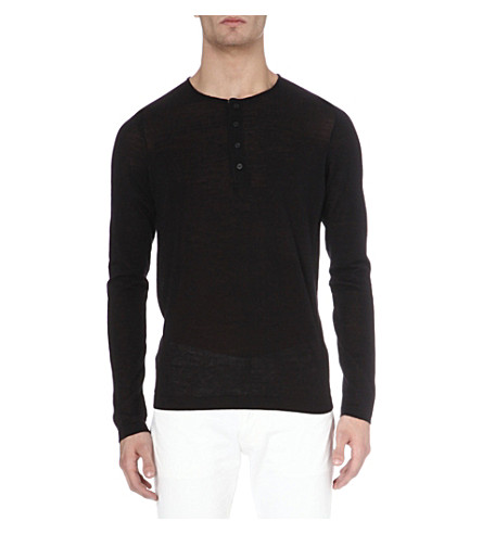 SANDRO Experimental jumper (Black