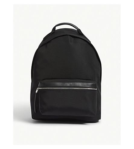 SANDRO Nylon backpack (Black
