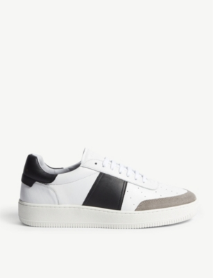 Magic leather and suede trainers(8115789)