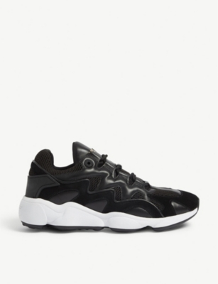 Atomic leather trainers(8125369)