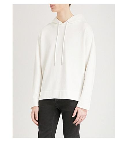 SANDRO Oversized cotton-jersey sweatshirt (Ecru