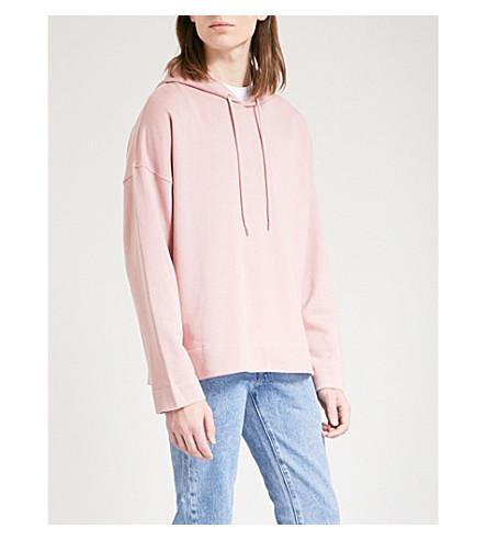SANDRO cotton jersey sweatshirt pink Oversized Light SANDRO Oversized pUrwvpq