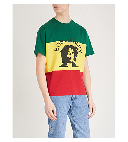 SANDRO Bob Marley print T-shirt (Multicolour