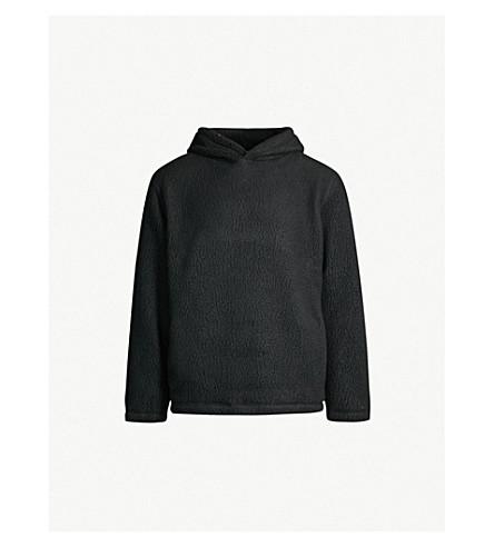 SANDRO 羊毛帽衫 (黑色