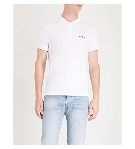SANDRO 英雄棉 Polo 衫 (白