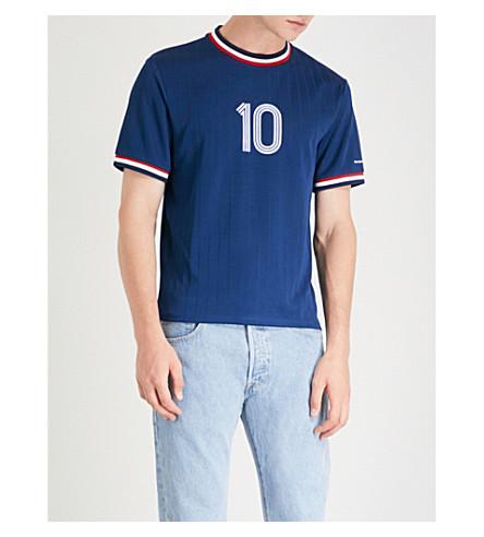 SANDRO 10 sports-jersey top (Blue