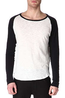 SANDRO Baseball top