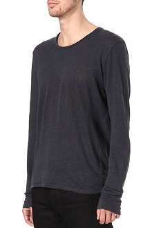 SANDRO Insight knitted t-shirt