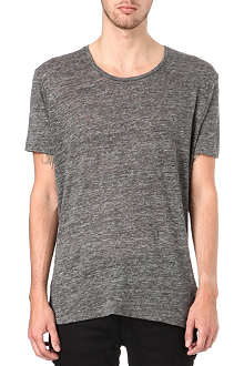 SANDRO Road knitted t-shirt