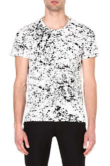 SANDRO Squire splater t-shirt