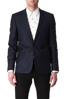SANDRO Modern single-breasted blazer