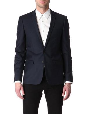 SANDRO Modern single-breasted blazer