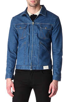 SANDRO Thunderbird denim jacket