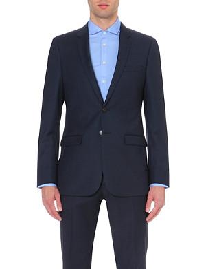 SANDRO Wool slim-fit suit jacket