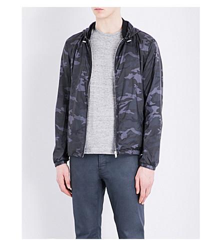 SANDRO Camouflage-print shell jacket (Grey