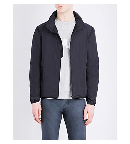 SANDRO Shell jacket (Navy+blue