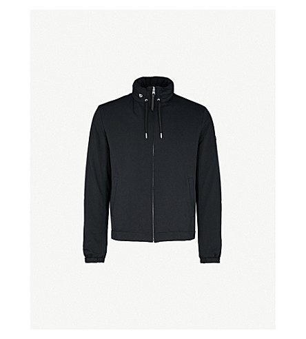 SANDRO Hooded shell jacket (Marine