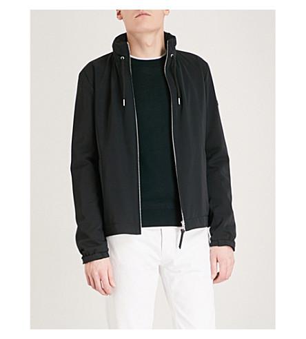 SANDRO capucha de capucha Chaqueta Marina con qq71ng
