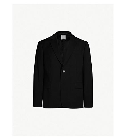 SANDRO Classic-cut wool blazer (Noir
