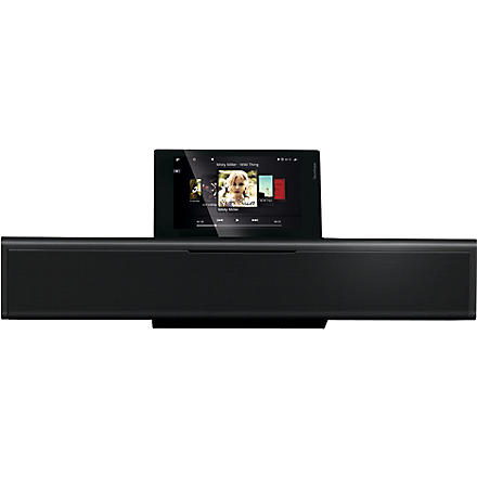 LOEWE SoundVision iPod dock, radio and CD player