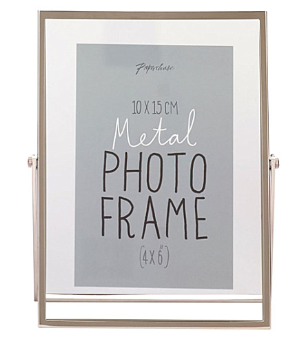 PAPERCHASE Avellino silver photo frame 4