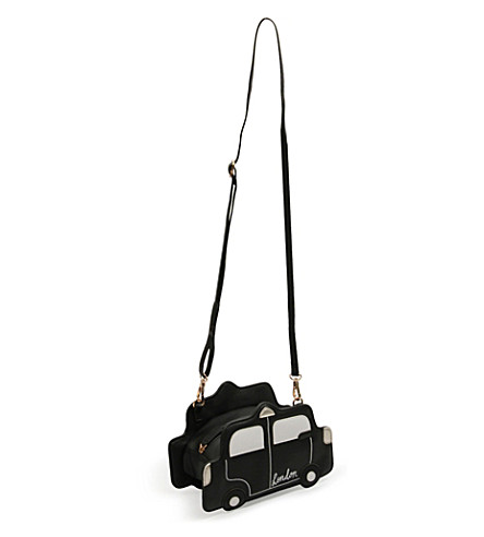 PAPERCHASE London taxi faux-leather cross-body bag