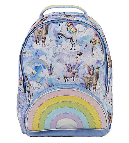 PAPERCHASE Unicorn holographic canvas backpack