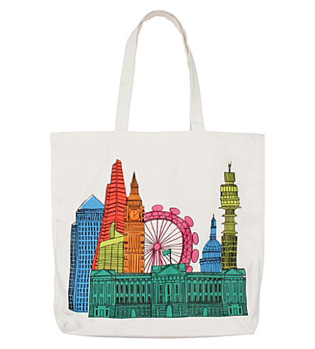 PAPERCHASE Love from London canvas shopper