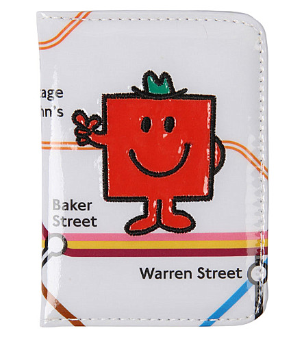 PAPERCHASE Mr. Men printed pass case