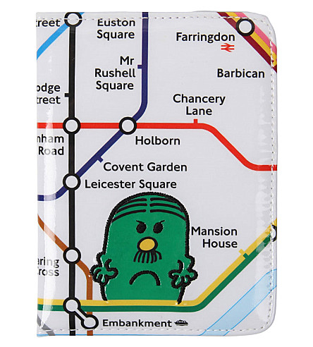 PAPERCHASE Mr. Men printed passport holder