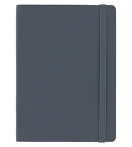 PAPERCHASE Agenzio soft paper notebook 15cm x 11.2cm