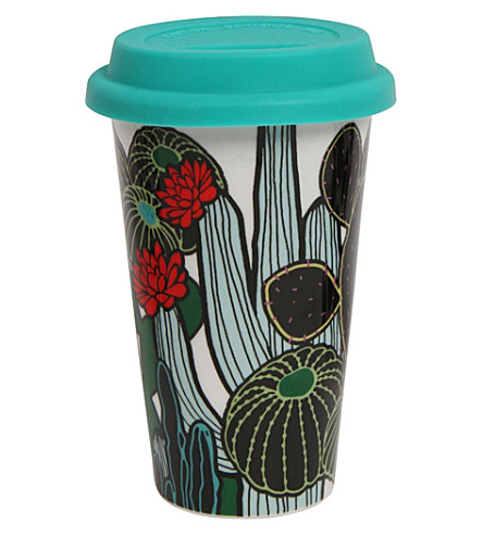PAPERCHASE Cactus ceramic take-out cup