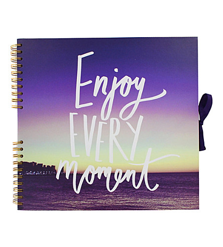 PAPERCHASE Enjoy Every Moment large scrapbook