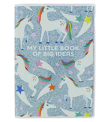 PAPERCHASE Unicorn Star A6 ideas notebook