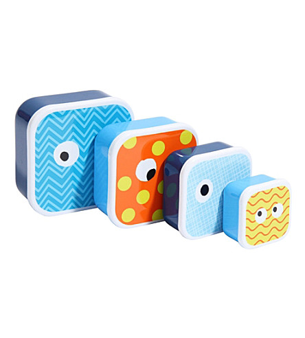 PAPERCHASE Bodo Modo set of four snack boxes
