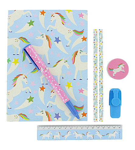 PAPERCHASE Unicorn Star stationery set