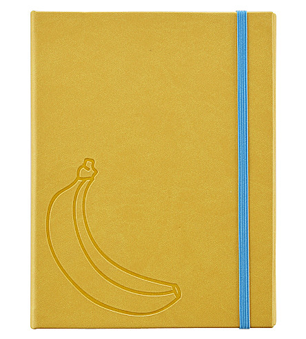 PAPERCHASE Bananas faux-leather multi organiser file