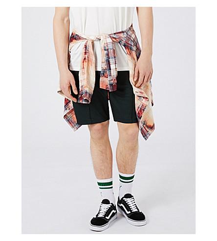 TOPMAN Regular-fit mesh shorts (Black