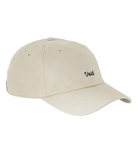 TOPMAN Void strapback cap (Beige