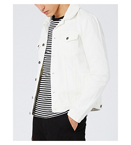 TOPMAN Denim jacket (White