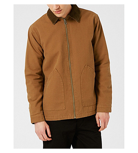 TOPMAN Work cotton-twill jacket