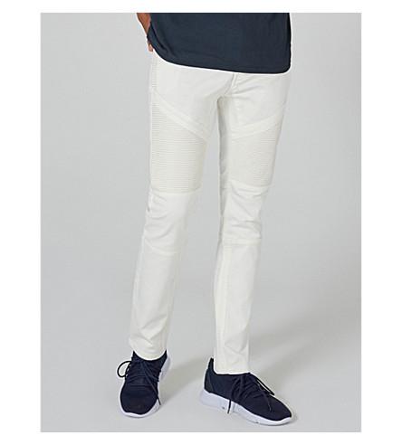 TOPMAN Biker slim-fit skinny jeans