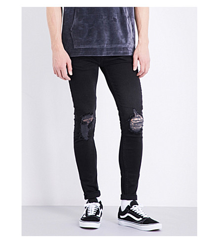 TOPMAN 蒂修身版型紧身牛仔裤