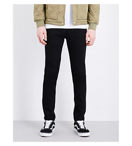 TOPMAN Slim-fit denim jeans (Black