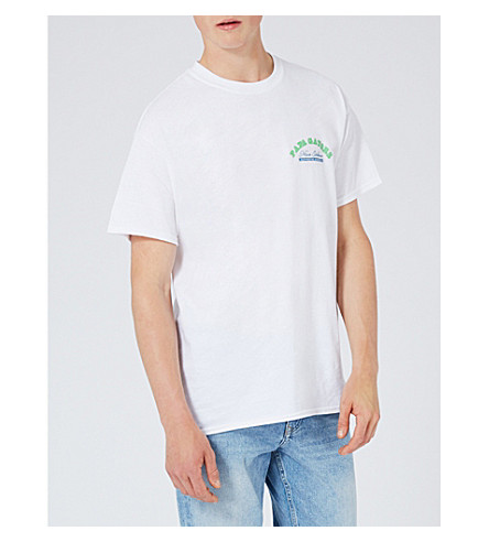 TOPMAN Gators cotton-jersey T-shirt (White
