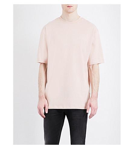 TOPMAN '90s jersey T-shirt (Pink